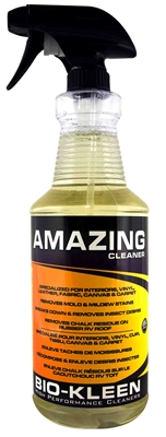 Amazing Cleaner boat vinyl cleaner, cleaning boat vinyl, bio-kleen amazing cleaner, amazing cleaner, multi purpose cleaner, vinyl cleaner, mildew cleaner, mold cleaner, biodegradable multi purpose cleaner, biodegradable vinyl cleaner, marine safe vinyl cleaner, marine safe boat cleaner