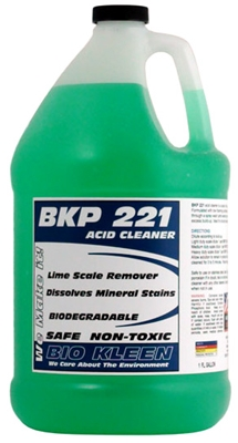 BKP 221 - Limescale Remover Limescale Remover, Descaler, Acid Cleaner, Acid Cleaning