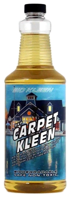 Carpet Kleen - Concentrated Carpet Cleaner - Makes Up To 32 Gallons of Wash