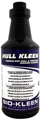 Hull Kleen - Acid Hull Cleaner clean boat hull, cleaning hulls, acid hull cleaner, bio-kleen hull kleen