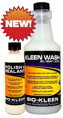Kleen & Protect Kit vehicle cleaning, soap, biodegradable, polymer, protection, shine