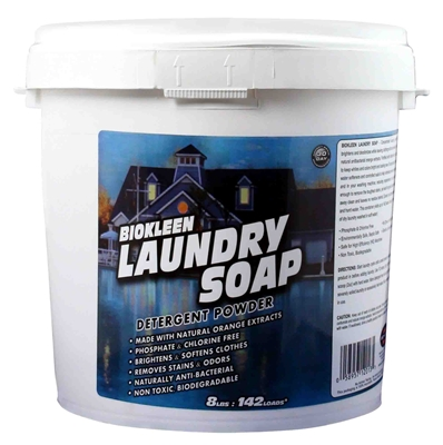 Laundry Soap - Powdered Laundry Detergent