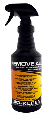 Remove All - Engine Degreasing Engine Degreasing, Degreasing an Engine, Bio-Kleen Remove All