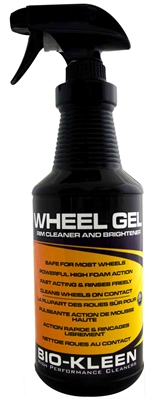 Wheel Gel - Rim, Tire Cleaner rim cleaner, rim cleaning, tire cleaning, biodegradable rim cleaner, biodegradable tire cleaner, biodegradable tire detailer, brake dust cleaner, wheel brake dust cleaner